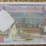 Argelia 10 dinares 1964 (182x94) pk.123 reverso