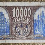 Danzig 10.000 mark 1923 pk.17 reverso