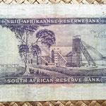 Sudáfrica 20 rands 1962 reverso