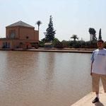 La Menara desde la alberca -Marrakech