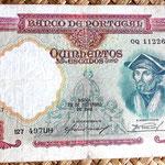 Portugal 500 escudos 1942 anverso