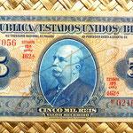 Brasil 5 mil reis 1936 (162x74mm) anverso