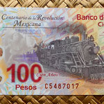 México 100 pesos 2010 Centenario de la Revolución (134x68mm) anverso