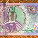 Surinam 10 gulden 2000 anverso