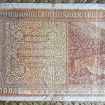 Bulgaria 1.000 levas 1942 pk.61a reverso