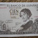 España 100 pesetas 1965 (139x88mm) pk.150 anverso