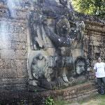 desde el Templo de Preah Khan -pared con garudas I