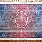 Polonia 5000 marka 1920 pk. 31 reverso