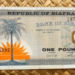 Biafra 1 pound 1967 anverso
