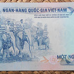 Vietnam del Sur 1000 dong 1972 pk.34a reverso