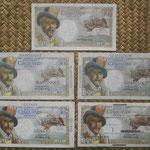 Colonias francesas de Ultramar 50 francos Belain d'Esnambuc 1947-1960 anversos