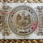México, 1 peso 1914, Banco de Londres y México reverso