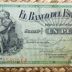 Colombia Banco del Estado 1 peso 1900 anverso