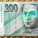 Eslovaquia 200 korun 2002 anverso