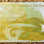 Kyrgyzstan 200 som 2004 reverso