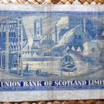 Escocia 1 libra 1951 Edimburgo reverso