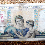 Indochina asiática francesa 500 francos 1939 anverso