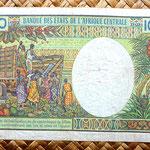 Congo 10000 francos 1992 reverso