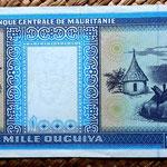 Mauritania 1000 ouguiya 2001 reverso