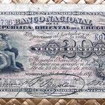 Uruguay 20 centésimos de peso 1887 anverso