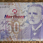 Irlanda del Norte 50 libras 2005 Northern Bank (155x85mm) pk.208a anverso