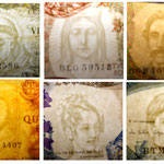 Portugal billetario serie 1964 marcas de agua