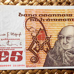 Irlanda 5 pounds 1986 anverso