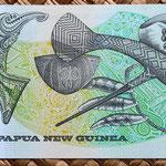 Papua Nueva Guinea 2 kinas 1981 reverso