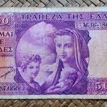 Grecia 5000 dracmas 1947 anverso