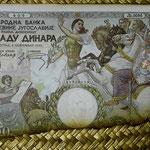 Yugoslavia 1000 dinares 1935 pk.33 anverso I