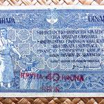 Reino de Serbia, Croacia y Eslovenia 10 dinares 40 coronas 1919 anverso