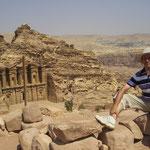 desde el Monasterio de Petra