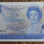 Nueva Zelanda 10  dollars 1990 Conmemorativo (155x78mm) pk.176 anverso