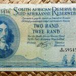 Sudáfrica 2 rand 1962 (150x84mm) anverso
