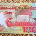 Islas Seychelles 100 rupias 1989 anverso