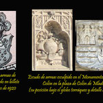 Escudo de armas de Colón (comparamos diferentes composiciones)