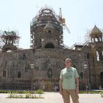 desde la Catedral de Echmiadzin (Patrimonio UNESCO armenio)