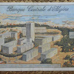 Argelia 100 dinares 1964 (218x112) pk.125 reverso