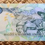 Lesotho 20 maloti 2007 reverso