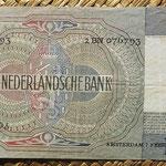 Holanda 10 gulden 1942 (144x82mm) pk.56b reverso