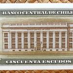 Chile 50 escudos 1973-75 reverso
