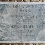 Indias Orientales Holandesas 25 gulden 1946 (148x74mm) pk.91 anverso