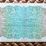 British Caribbean Territories 2 dollars 1954 reverso
