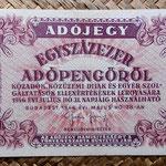 Hungria 100.000 adopengo 1946 (135x82mm) pk.144e anverso