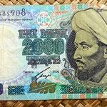 Kazajstan 2000 tenges 2000 anverso