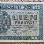 España 100 pesetas 1936 (160x85mm) pk.101 anverso