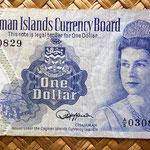 Islas Cayman 1 dólar 1974 anverso