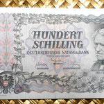 Austria 100 shillings 1954 anverso