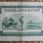 Indias Holandesas 5 gulden 1943 reverso