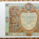 Polonia 50 zlotych 1929 anverso